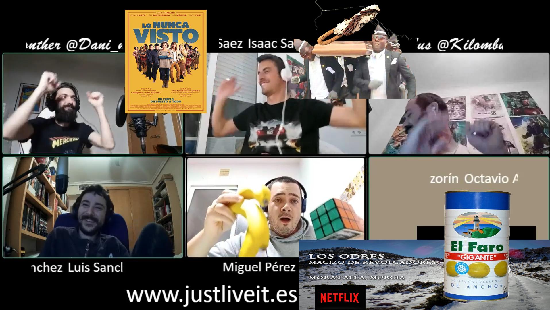 Just Live It   Temp01 Ep05   Lo Nunca Visto, Oido Y Algun Faro De Puticlistas