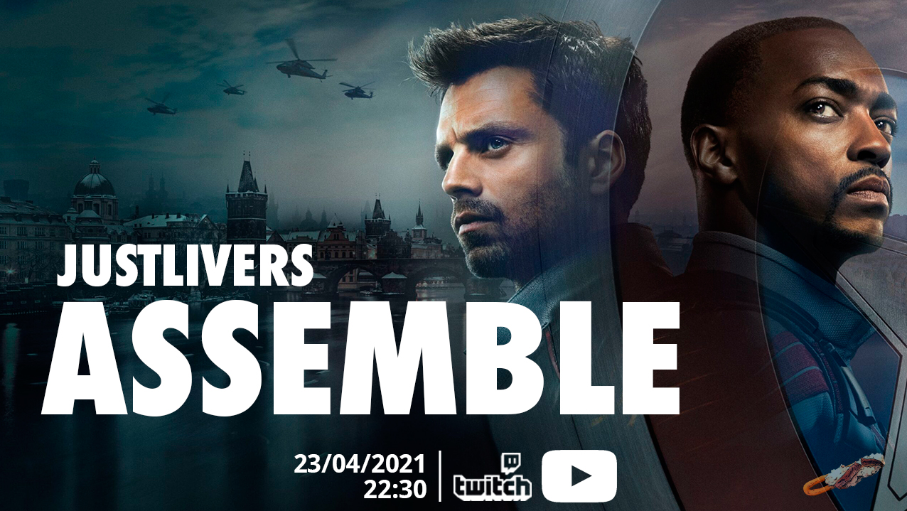 Just Live It   Temp02 Ep ESPECIAL   FALCON & THE WINTER SOLDIER.